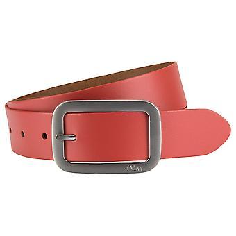 s.Oliver women's leather belt leather belt 39.705.95.3635-3466