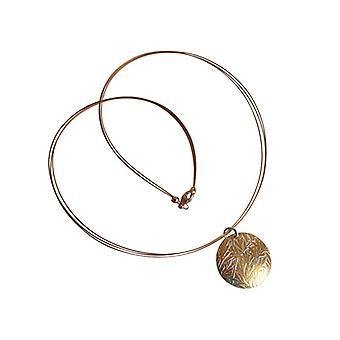 ميدالية قلادة الذهب مطلي فضة المنجد