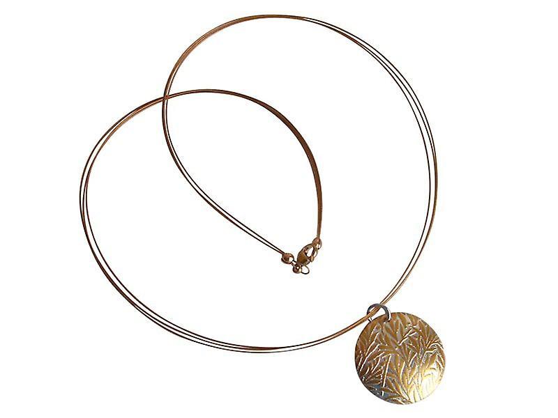 Medaillon Halskette Sterling argent Medaillon veroret