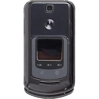 Wireless Solutions Snap-On Case for Motorola VE465 - Smoke