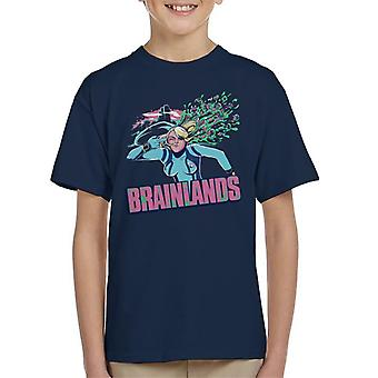 Brainlands Borderlands Metroid Kids t-skjorte