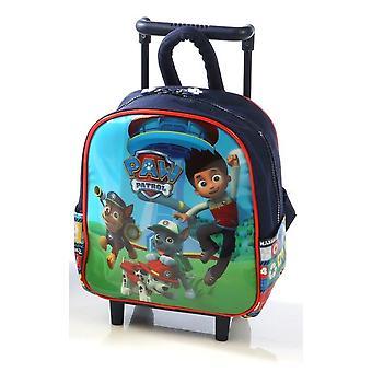 Patrulha de pata rodas mochilas para jardim de infância