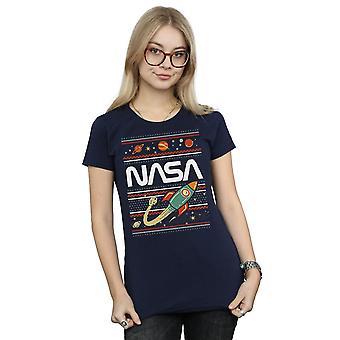 NASA Women's Fair Isle T-Shirt