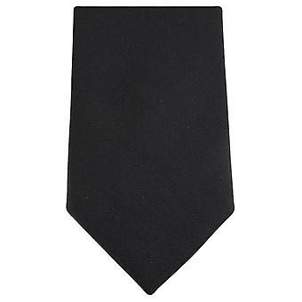 Knightsbridge Neckwear Diamante Pattern Tie - Black/Silver