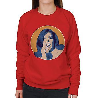 TV gange Diana Rigg kvinders Sweatshirt