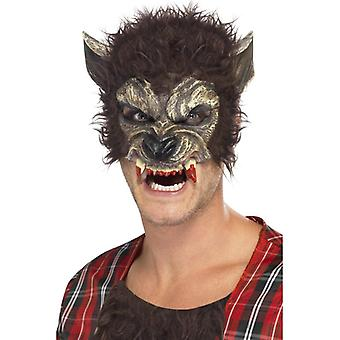 Smiffy's Werewolf Half Face Mask