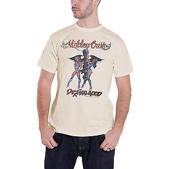 Motley Crue T Shirt Dr Feelgood Vintage band logo new Official Mens