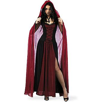 Cape cloak Lady costume Lady Cape woman Cape costume ladies Red