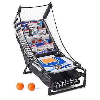 Electronic Basketball Bounce Score Game Portable Arcade Toy Sports Gift