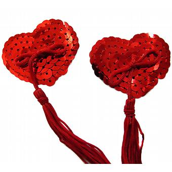 Waooh 69 - Cache-Teton Red Heart With Sequins