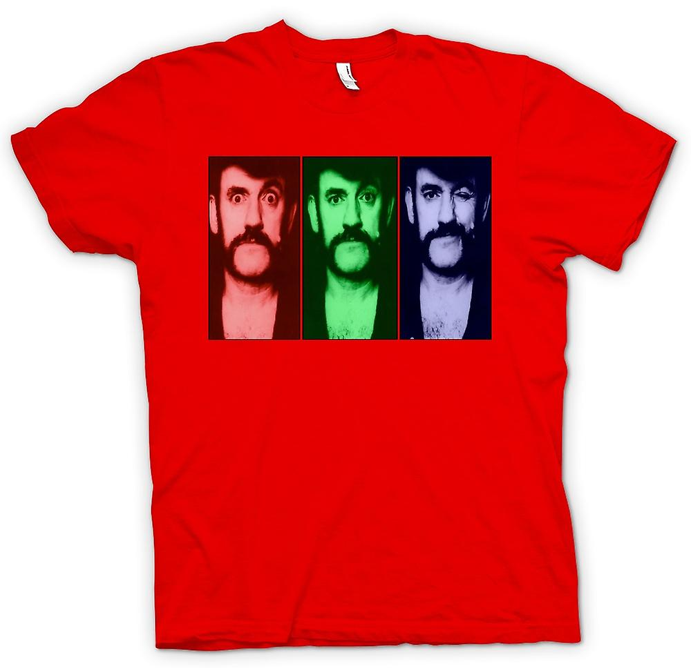 Mens t-skjorte - Motorhead Lemmy - Pop Art