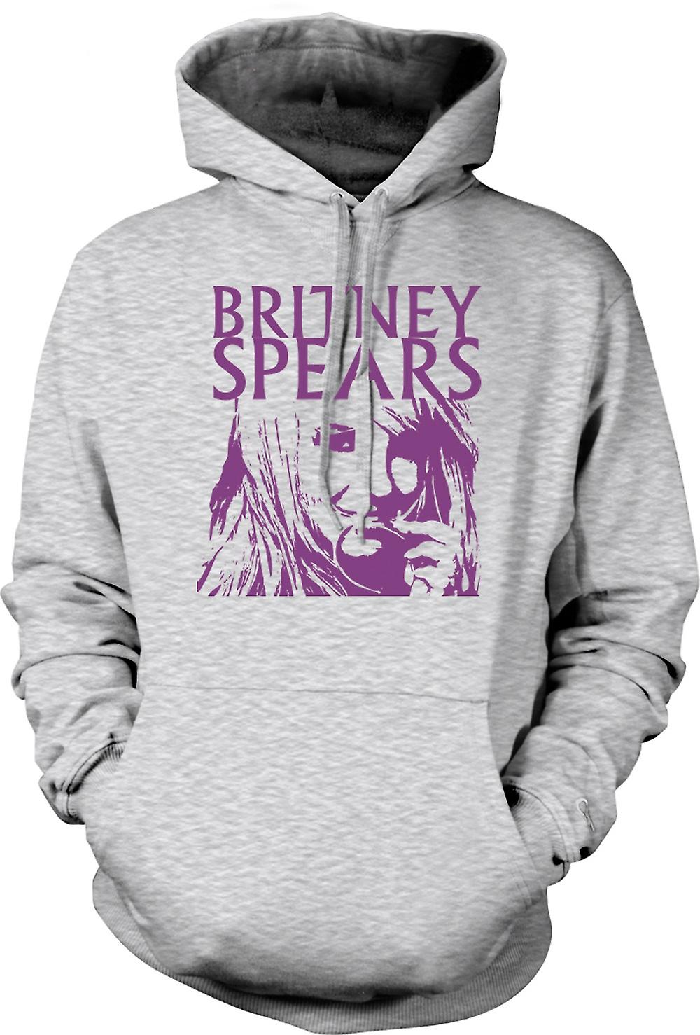 Mens hettegenser - Britney Spears legende