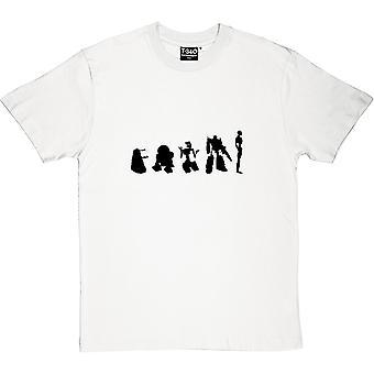 Entwicklung der Roboter Herren T-Shirt