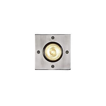 Lucide Biltin Modern Square Aluminum Satin Chrome Deck Light