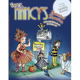Fancy Nancy de Haunted Mansion: een herbruikbare Sticker Book voor Halloween