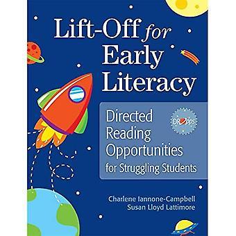 Astronauten voor vroege geletterdheid: regie Centre voor worstelende studenten lezen