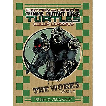 Teenage Mutant Ninja Turtles: The Works Volume 2 (œuvres de Tmnt Hc)