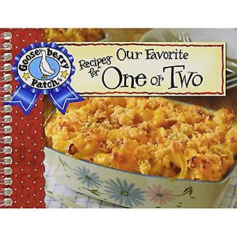 Our Favorite Recipes for One or Two w/Photo Cover (Our Favorite Recipes Collection)