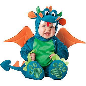 Heldere Dragon baby kostuum