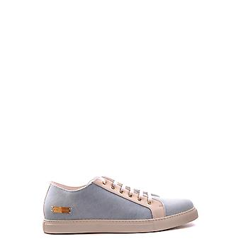 Marc Jacobs hellblauen Stoff Sneakers