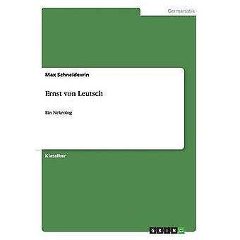 Ernst von Leutsch by Schneidewin & Max