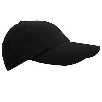 Result Unisex Low Profile Heavy Brushed Cotton Baseball Cap (Pack of 2)