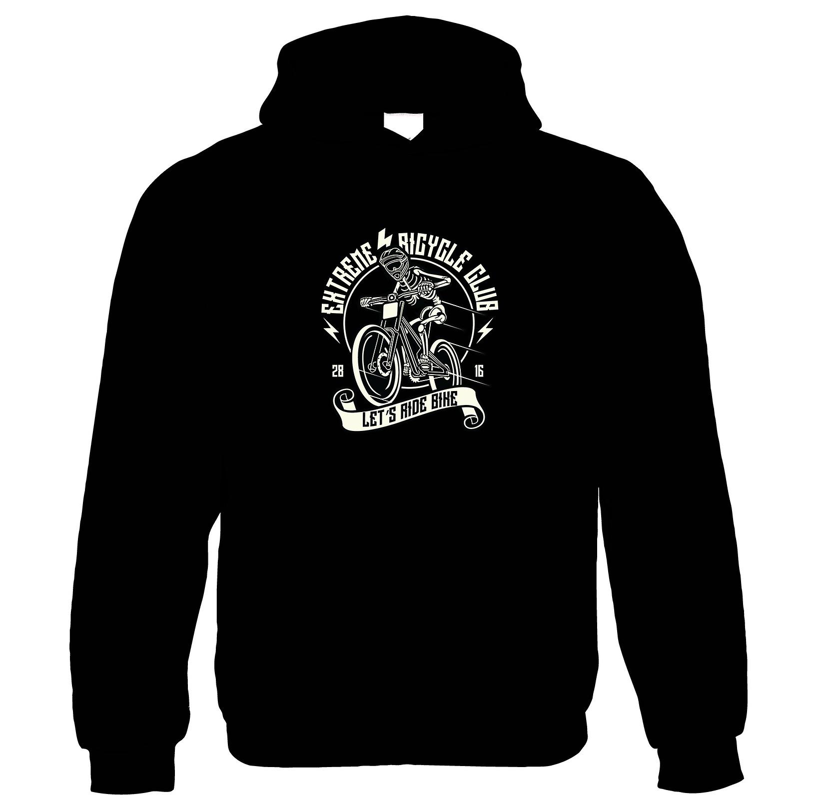 Lets Ride Bike Hoodie   Bicycle Bike Pedal Faster Gear Chain Cyclist Rider    Cycling Gift Him Her