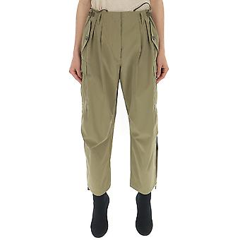 Givenchy Green Cotton Pants