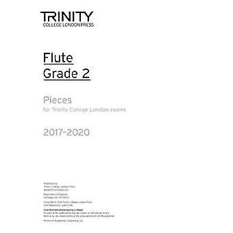 Flute Exam Pieces Grade 2 2017 2020 (Part Only) - 9780857365064 Book