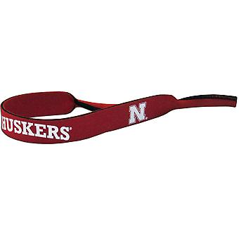 Nebraska Cornhuskers NCAA Neoprene Strap For Sunglasses/Eye Glasses