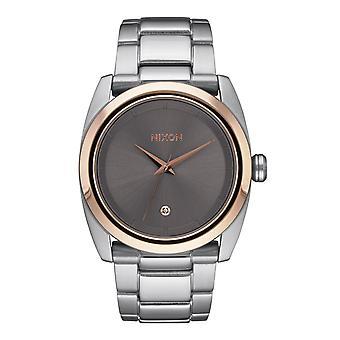 Nixon il Vasconvoltooo Damenuhr oro / grigio argento / rosa (A9352215)