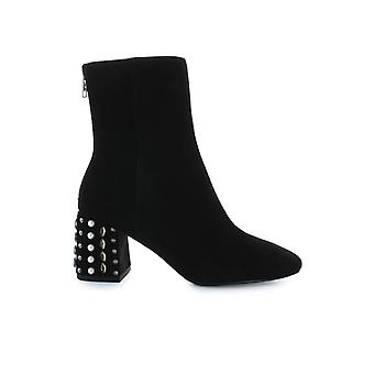 ASH BLACK HYDE BOOTIE WITH GEMSTONES