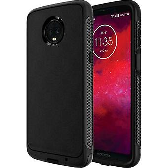 Verizon Dual Layer Rugged Case for moto z3 - Black