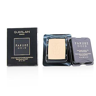Guerlain parure Gold rejuvenating Gold Radiance pó Fundação SPF 15 recarga-# 02 bege Clair-10g/0.35 Oz
