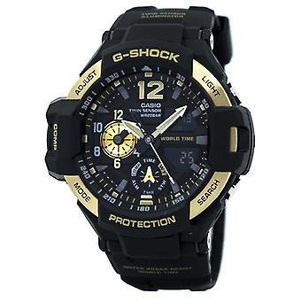 Casio G-shock Gravitymaster Twin Sensor World Time Ga-1100-9g Ga1100-9g Men's Watch