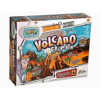 Grafix Weird Science erupcji wulkanu