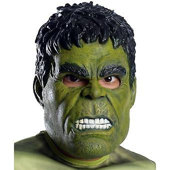 Hulk 3/4 Maske für Kinder