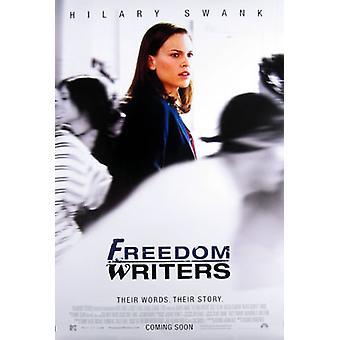 Freiheit Schriftsteller (Doppelseitige internationale) Original Kino Poster