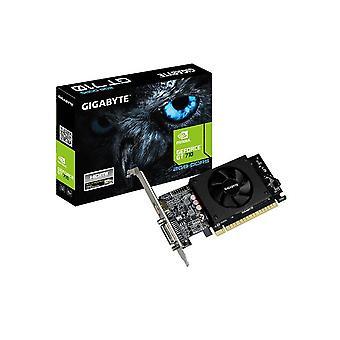 Gigabyte NVidia Geforce GT 710 2GB DDR5 PCIe Video Card