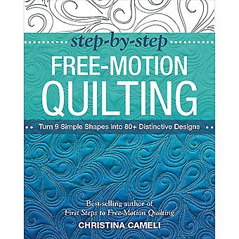 Stash Books-Step-By-Step Free-Motion Quilting STA-50242