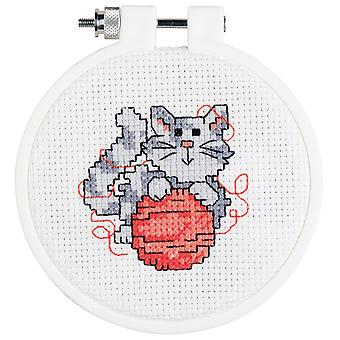 Mini chaton compté Cross Stitch Kit 3