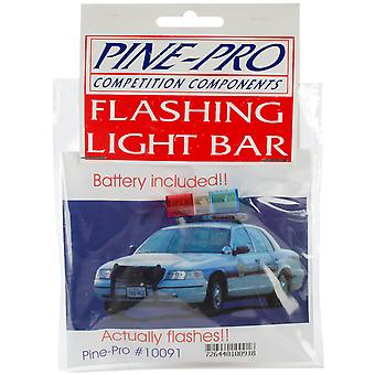 Pine Car Derby Flashing Light Bar with Battery Pp10091