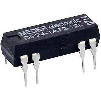 Reed relay 1 maker 24 Vdc 1 A 10 W DIP 8
