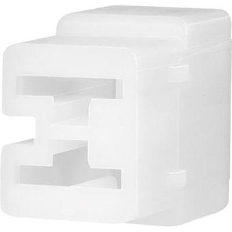 Socket enclosure - cable FASTIN-FASTON Total number of pins 2 TE Connectivity 180923 Contact spacing: 6.35 mm 1 pc(s)