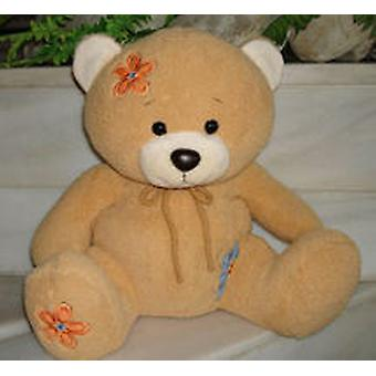 Import Teddy Embroidered Flower 38 Cm (Giocattoli , Pupazzi Ed Accessori , Peluches)