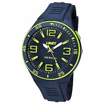 Limit Mens Navy Strap Navy Dial 5569 Watch