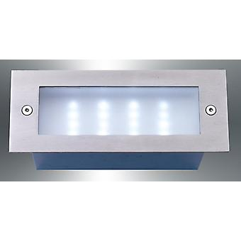 LED recessed luminaire, IP54, 17 x 6, 8 cm, Led_Recess4 10109
