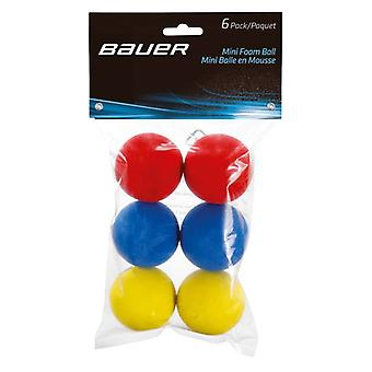 Balle en mousse mini BAUER - Pack de 6