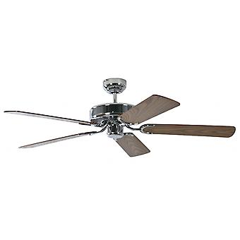 Ceiling Fan Potkuri steel, selectable blade colour