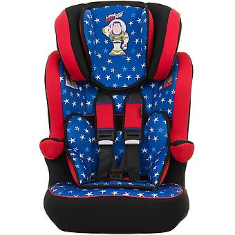Obaby Group 1/2/3 Highback Booster Seat Disney Buzz Lightyear